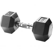 Body Sculpture Hexa Rubber Dumbbell 1x 12,5 kg