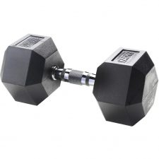 Body Sculpture Hexa Rubber Dumbbell 1x 17,5 kg