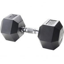 Body Sculpture Hexa Rubber Dumbbell 1x 20 kg