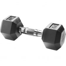 Body Sculpture Hexa Rubber Dumbbell 1x 6 kg