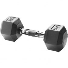 Body Sculpture Hexa Rubber Dumbbell 1x 5 kg
