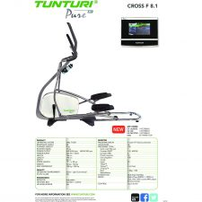 Tunturi Pure Cross F 8.1