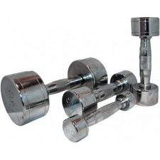 Marcy Chrome Dumbells - 4 kg