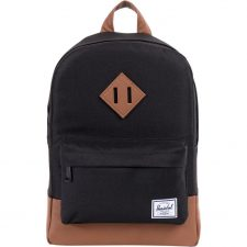 Herschel Heritage Kids - Black / Tan PU