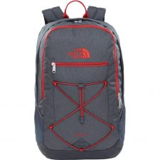 The North Face Rodey - Grey Dark - Cardinal Red