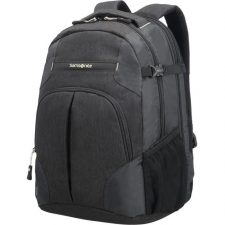 Samsonite Rewind Laptop Expandable Backpack L Black