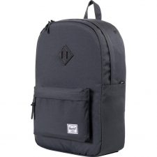 Herschel Heritage Dark Shadow/Black Leather