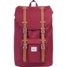 Herschel Little America Mid-Vol Winetasting Crossh/Tan Leath