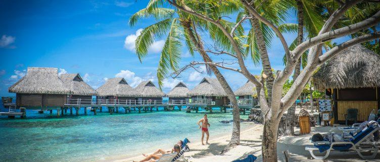 De mooiste tropische bounty eilanden