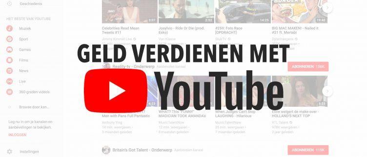 Hoe verdien je geld met Youtube?