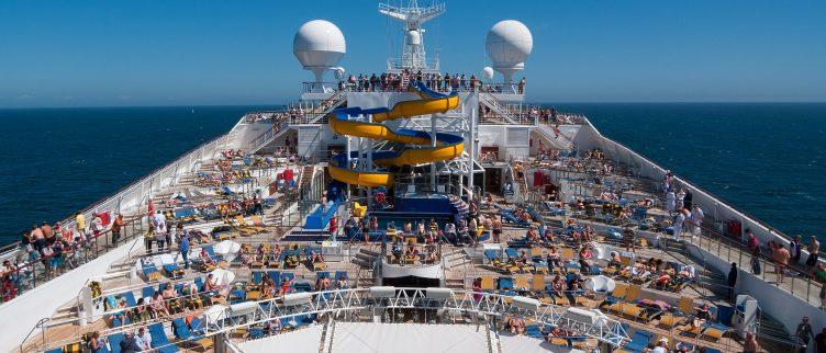 Werken op een cruiseschip