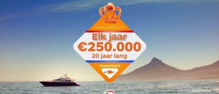 Wat kost een lot voor de Koningsdagtrekking loterij?