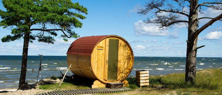Bungalows met sauna in Nederland
