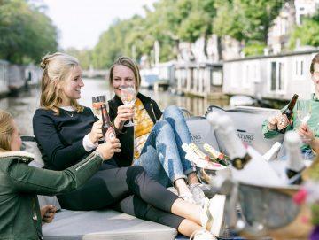 afbeelding Luxe Sloep Rondvaart Amsterdam
