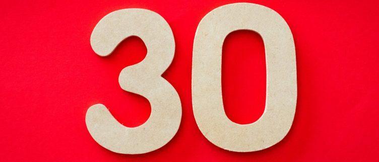 12 leuke kado's voor iemand die 30 wordt
