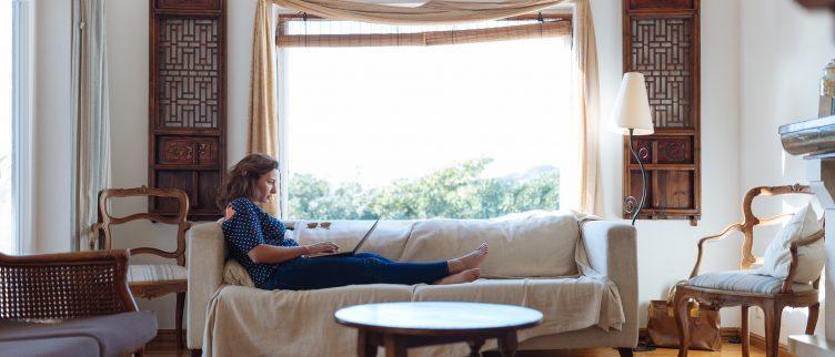 7 ideeën voor een landelijke woonkamer
