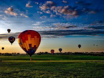 10 redenen om een ballonvaart te boeken