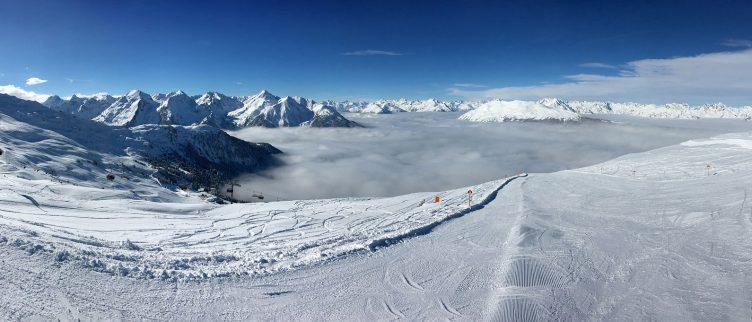 Beste plek voor wintersport aan het einde van het seizoen