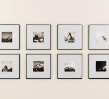 fotolijstjes ophangen