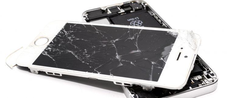 Wat moet je doen als je je telefoon hebt laten vallen?