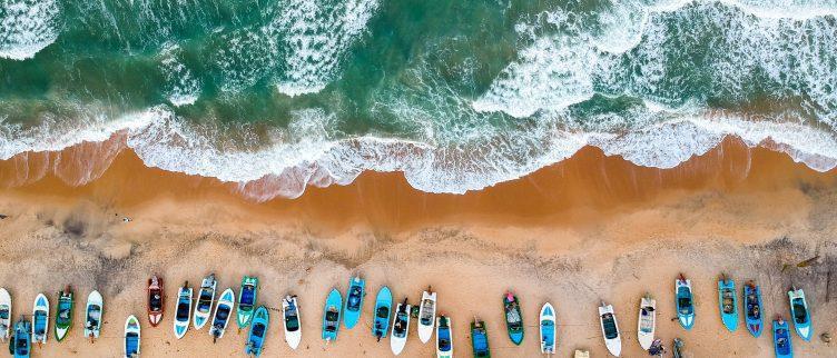 10 keer de mooiste stranden van Sri-Lanka