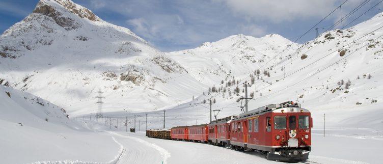 Hoe kun je gaan wintersporten met de trein?