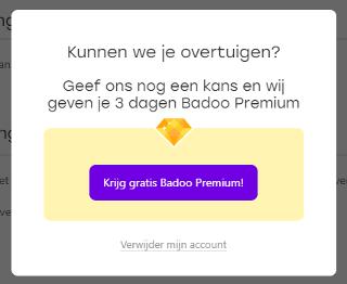Badoo premium kostenlos