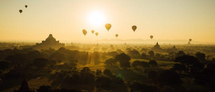 40 plekken waar je een ballonvaart kunt doen