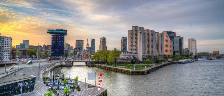 7 Leuke restaurants en terrasjes aan het water in Rotterdam